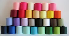 """7/8"""" Grosgrain Ribbon~Solids colors~Lot of 30 yards~ one yard of each color"""