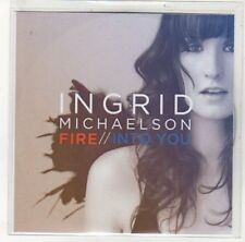 (DK687) Ingrid Michaelson, Fire / Into You - 2012 DJ CD
