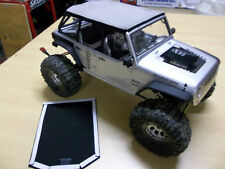 Scale RC Canvas soft top Axial Jeep JK Wrangler Rubicon SCX10 Truck crawler rc