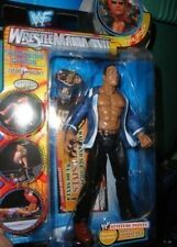 WWE THE ROCK FROM WRESTLEMANIA XVII  MOC  FREE SHIPPING IN U.S.