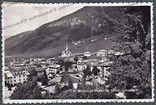 TRENTO MOENA 22 VAL DI FASSA VAL DI FIEMME Cartolina FOTOGRAFICA viaggiata 1953