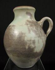 "7"" Vintage Grey MOBACH Holland Dutch Chantal Art Pottery #856"