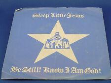E.J. MAVRINAC - Sleep Little Jesus / Be Still, Know I Am God - 1985 w/PIC.SLEEVE
