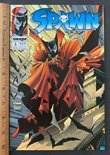 1992 Image Comics Issue #3 Spawn Mcfarlane Comic Book 1St Printing (Aa)