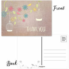 Thank You Postcards - 50 Thank You Postcards - B17021