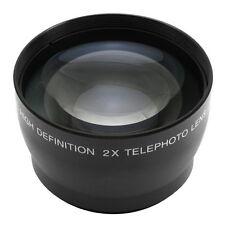 55mm 2.0X Magnification Tele Telephoto Lens for Digital DSLR SLR Camera  2X 55
