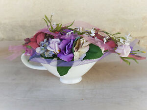 Blumengesteck Tischgesteck Rosen Rosengesteck Sauciere