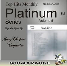 Top Hits Monthly Platinum THMPL05 Mary Chapin Carpenter 16 Song Karaoke CD+G cdg