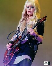 Orianthi Panagaris Signed Autographed 8X10 Photo Guitarist Playing GV849599