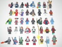 Lego ® Minifigure Figurine Marvel DC Comics Super Heroes Choose Minifig NEW