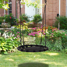 HOMCOM Tree Swing Hanging Hammock Chair Attaches to Tree or Existing Swing Set