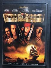 Pirates Of The Caribbean The Curse Of The Black Pearl DVD - Region 1 - 2 Disc