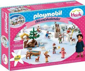 Playmobil 70260 Heidi's Winter World Advent Calendar RRP £24.99
