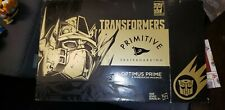Transformers Primitive Skateboarding Black Optimus With Perfect Effect Black...