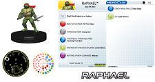 RAPHAEL 102 Teenage Mutant Ninja Turtles TMNT HeroClix starter figure