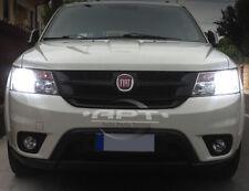 Pair Bulbs H11 LED 72W 8000Lm White 6500K Headlight Low Beam Fiat Freemont 2011+