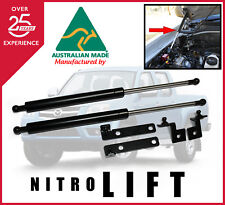 NITRO LIFT BONNET GAS STRUT DAMPER CONVERSION KIT MAZDA BT 50 BT50 2006 2011