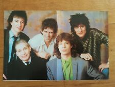 poster rock and folk - années 80 - Rolling Stones