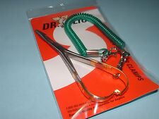 Dr Slick 4 3/4 inch Mitten Scissor Clamps Gold Straight Fly Fishing CMS47G