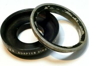 #502 19mm to 33.3mm step up Adapter series 5 V Filter Holder w/ retaining ring