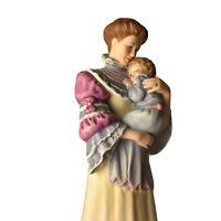 """Lenox Cherished Moments Figurine Mom & Baby Fine Porcelain Vintage 9"""""""