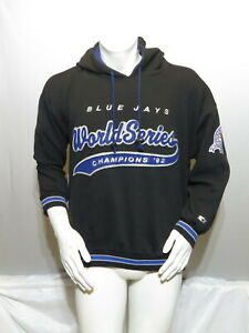 Toronto Blue Jays Hoodie - 1992 World Series Champs by Starter - Men's Large