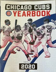 2020 CHICAGO CUBS YEARBOOK MLB PROGRAM WORLD SERIES ? 209 PAGES SHIPPING NOW