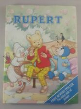 Rupert The Bear Annual 70th Anniversary With Dust jacket - rupert annual 1990