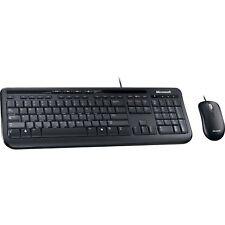 Microsoft Wired Desktop 600, Desktop-Set, schwarz