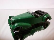 DINKY TOYS 38D ALVIS SPORTS TOURER - GREEN 1:43 - GOOD CONDITION