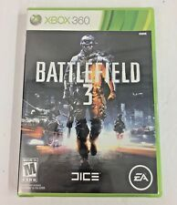 Battlefield 3 Xbox 360 2011 Factory Sealed Video Game New