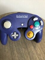 Nintendo Gamecube OEM  DOL-003 Official Controller Purple Indigo Tested READ ME!