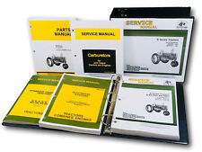 Service Parts Manual Set For John Deere B Bn Bw Bwh Bnh Styled Tractor Catalog