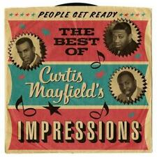 CURTIS MAYFIELD'S IMPRESSIONS People Get Ready Best Of NEW & SEALED 60s SOUL CD
