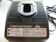 Black & Decker 15 Minute Quick Charger Type 1 Series 324B 98020