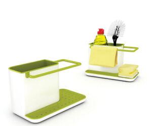 Kitchen Sink Caddy Organizer Sponge Dispenser Holder Drainer