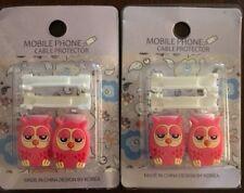 Pink Owl, USB Cable Saver