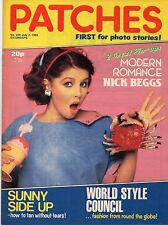 Patches Magazine 2 July 1983 No. 226   Modern Romance   Nick Beggs of Kajagoogoo