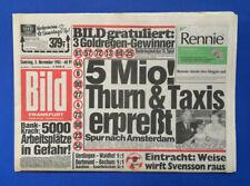 Bild Zeitung -     5. 11. 1983 - Joan Collins * Katja Bienert * Kalle Rummenigge