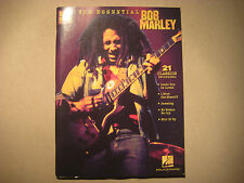 The Essential Bob Marley Easy Guitar With Notes & Tab Learn Music Hal Leonard