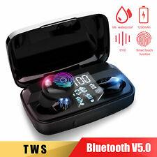 Wireless Headset Tws Bluetooth 5.0 Stereo Earbuds Touch Mini Headphone Earphones