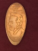 1968 Eugene J McCarthy For PRESIDENT • COURAGE • INTEGRITY Elongated Penny POTUS