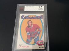 1971-72 Guy Lafeur Rookie #148 OPC BVG 4.5