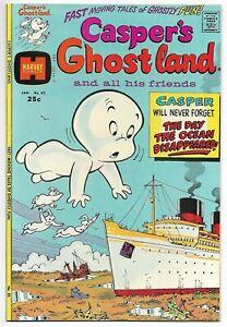 Casper's Ghostland #82 (Harvey, 1975) – File Copy – Wendy – Spooky – NM-