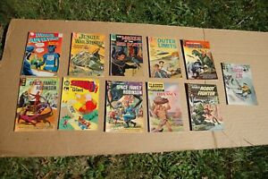 Collectible Comic Books - 11 Classics Very Rare from 1960's
