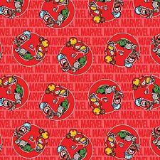 1 yard  Marvel Kawaii United  Fabric