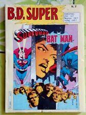 Livre B.D. Super - Superman et Bat man - M 3460 - N2