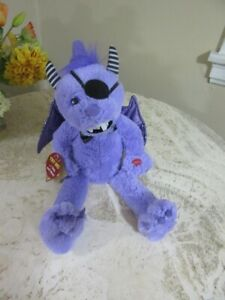 """Chantilly Lane musical, animated """"Purple people eater"""" Monster. Halloween"""