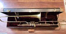 Valve trombone with case Very Nice!