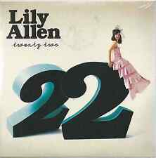 LILY ALLEN - 22 2009 EU CARD SLEEVE Regal - REG154CD FACTORY SEALED